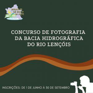 Concurso de Fotografia Bacia Hidrográfica Rio Lençóis